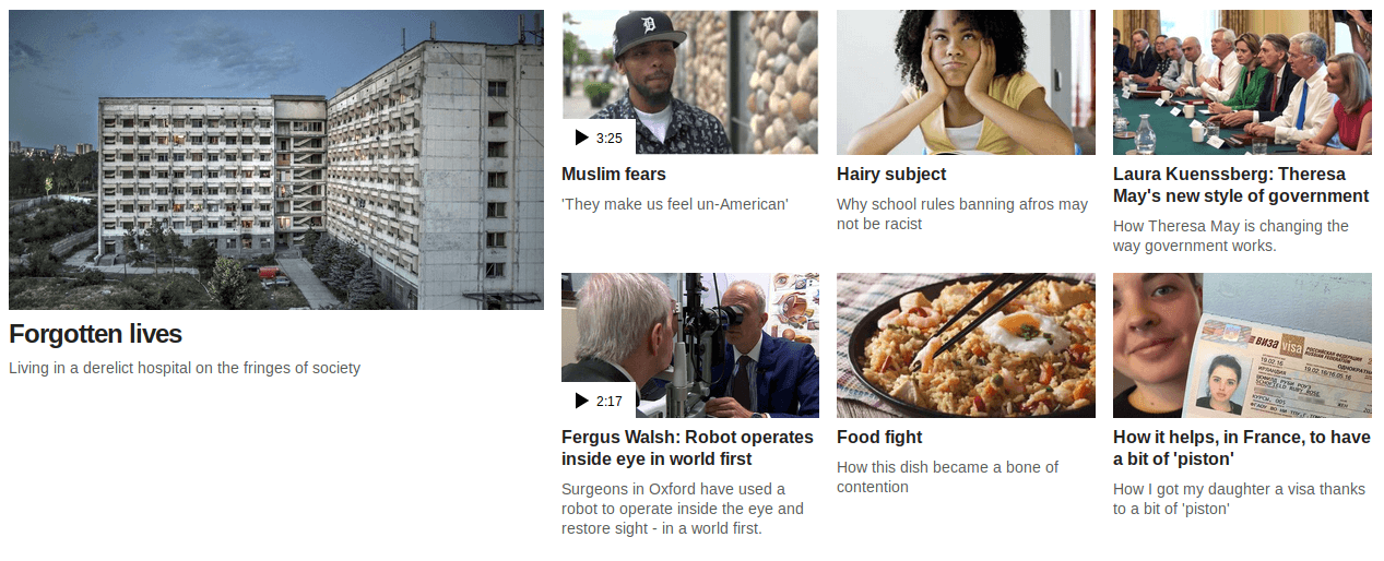wildlyinaccurate.com - Introducing a faster BBC News front page